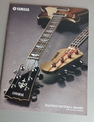 Yamaha Guitars Bass Amps Accessories Catalog 2010 Brochure 34 Pages WORLDWIDE, used for sale  Shipping to India