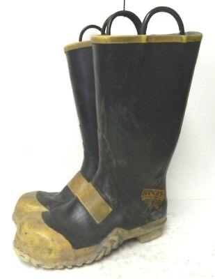 Ranger Shoe-fit Firefighter Boots - Size Mens 11.5 Medium - Good Condition
