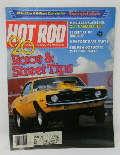 Hot Rod Magazine -March 1983 - 20 Race & Street Tips