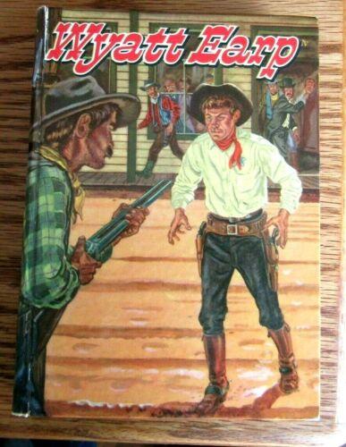1956 WYATT EARP YOUNG FOLKS BOOK  WHITMAN PUBLISHING NICE ILLUSTRATIONS .
