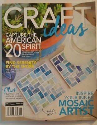 CRAFT IDEAS NEW MAGAZINE SEPTEMBER 2015 - Craft Ideas Magazine