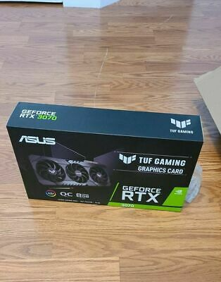 ASUS TUF Gaming GeForce RTX 3070 OC 8GB GDDR6X Graphics Card