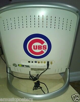 """HANSPREE MLB CHICAGO CUBS SANDLOT 15"""" LCD TELEVISION AND/OR COMPUTER MONITOR"""
