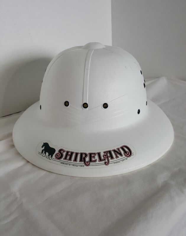 Shireland 1987 White Pith Helmet Hat  From Shireland in  Illinois