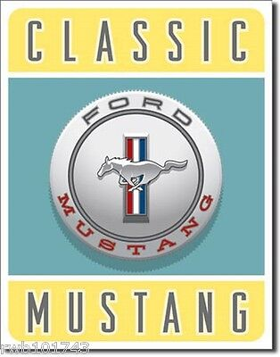 Vintage Muscle Cars Tin Signs Metal Poster Wall Decor
