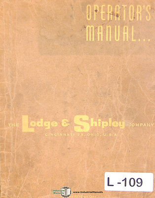 Lodge Shipley 0300 0400 0600 0800 1000 59 Page Shear Operate Parts Manual