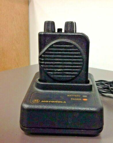 Motorola Minitor 4, Minitor IV, Pager, #A03KUS7239AC, 2F NSV, Charger VHF