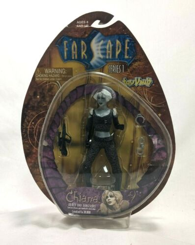 Toy Vault FARSCAPE CHIANA Armed And Dangerous Action Figure 2000 SEALED Limited