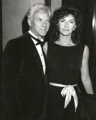 Mary Steenburgen And Malcom Mcdowell In 1987   8X10 Publicity Photo  Az373