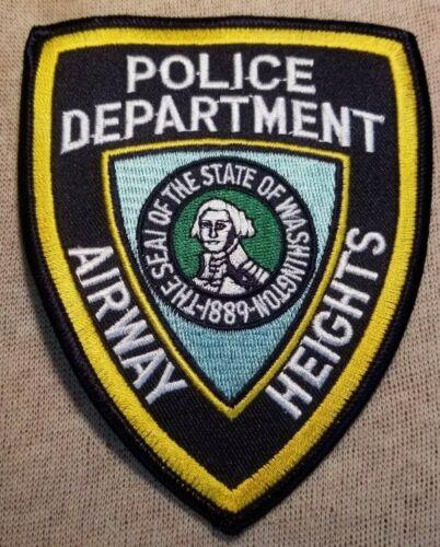 WA Airway Heights Washington Police Patch