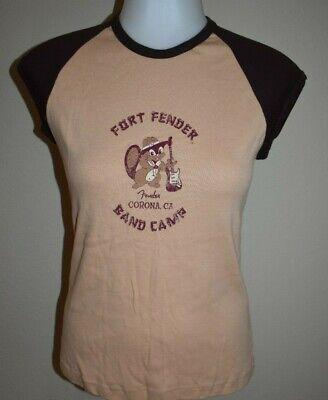 Womens Camp-shirt (Womens Fort Fender Band Camp Shirt American Apparel Corona California Tee)