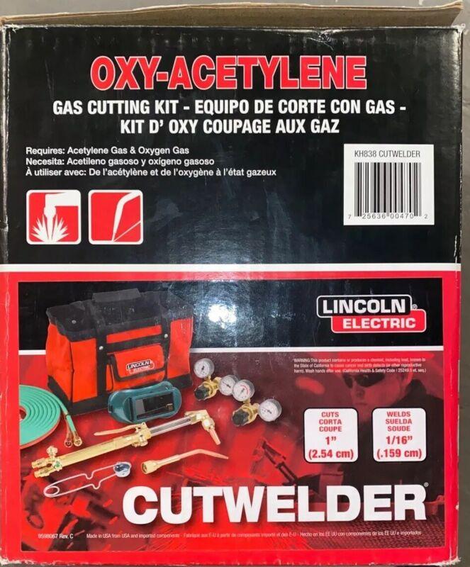 LINCOLN ELECTRIC Cutwelder KH838 CUT WELDER KIT OXY-ACETYLENE OUTFIT