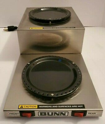 Bunn-o-matic Hot Plate Wl-2 Warmer Wl-2 Double Warrmer