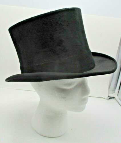 Vintage Unmarked Top Hat