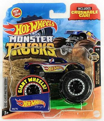 Hot Wheels Monster Trucks 2020 Giant Wheels 1:64 Hot Wheel Racing Crushable Car