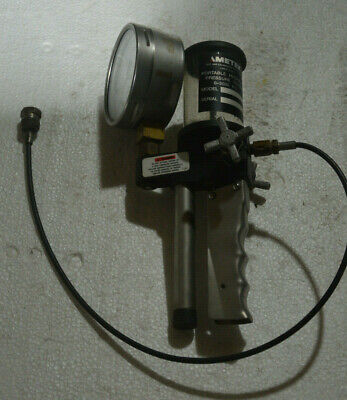 Ametek Portable Hydraulic Pressure Tester 0-3000 Psi