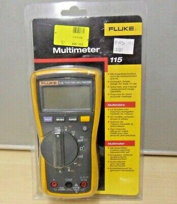 Fluke 115 True Rms Multimeter 731-5172 Test Leads