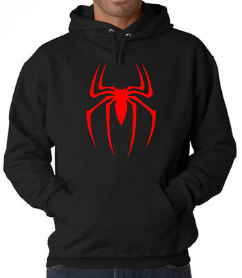 Marvel SpiderMan Ultimate Spider Logo Unisex Hoodie/Sweatshirt Adult Sizes S-2XL