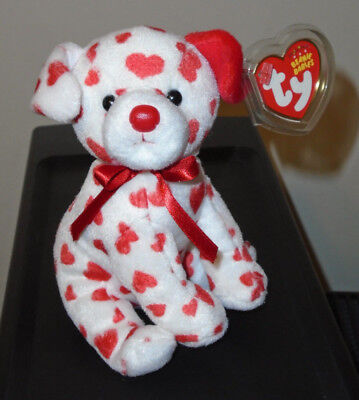 Ty Beanie Baby - HEARTS the Valentine Dog (7 Inch)(Walgreens Exclusive) MWMT