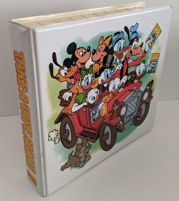 VINTAGE Walt Disney Take-a-Tape Along Storyteller Cassette & Read-along books