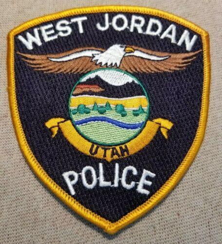 UT West Jordan Utah Police Patch