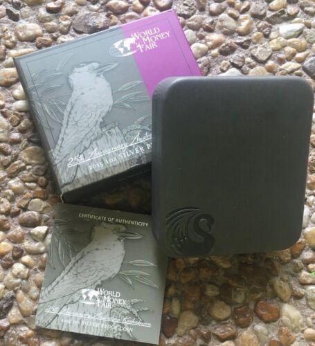 2015 Proof Kookaburra WMF World Money Fair Berlin ( OGP Only ) Box, Case, COA