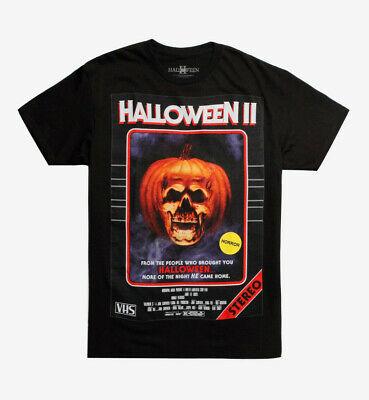 Holloween II Mens VHS Cover Design Shirt New S, M](Holloween Shirts)