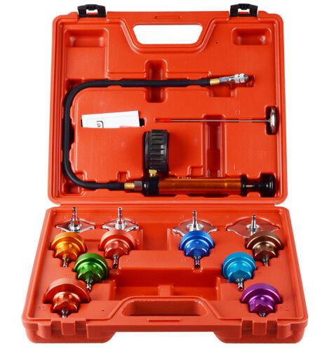 Radiator Coolant Pressure Tester Cooling System Head Gasket Leak Detector