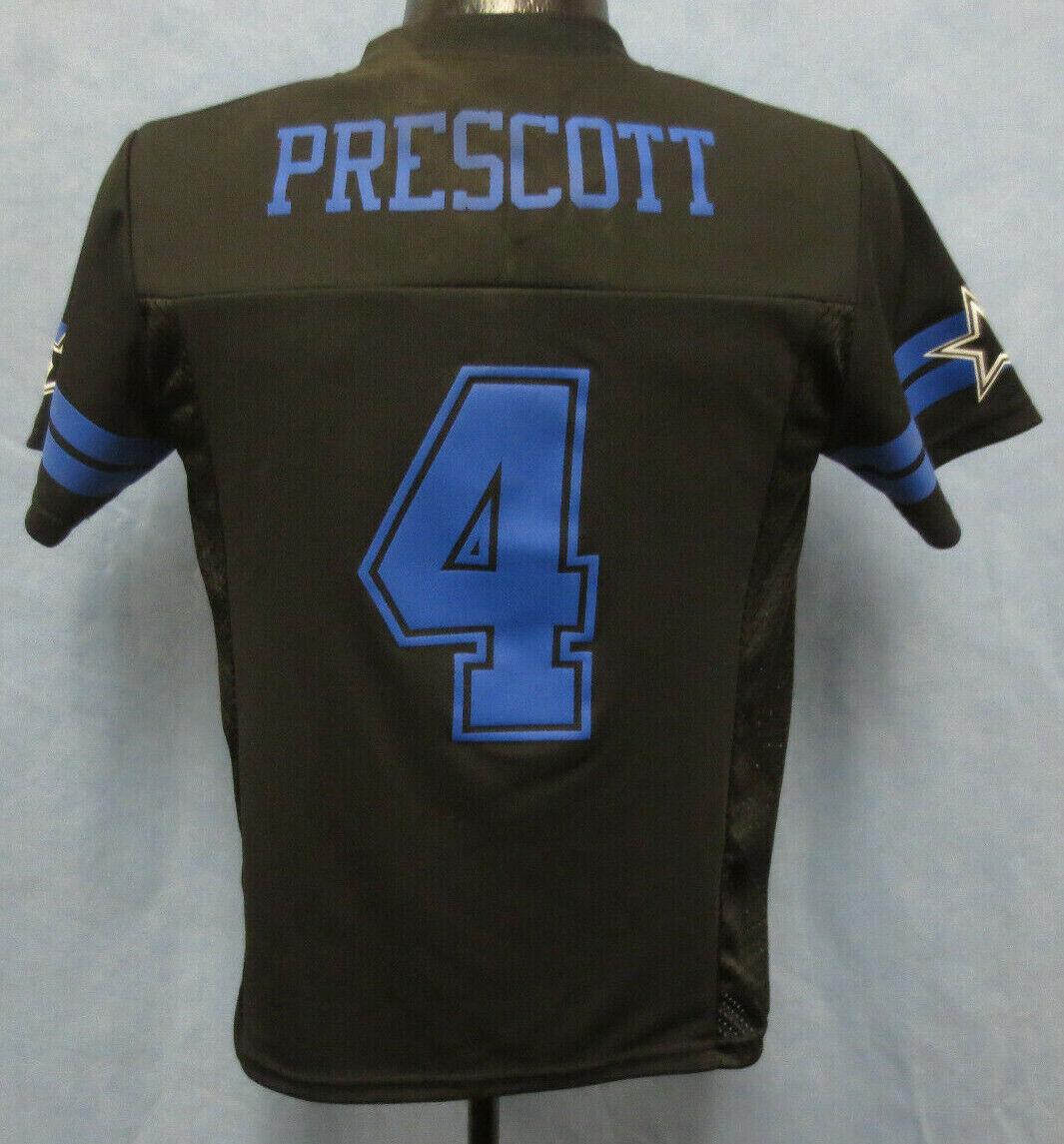 dak prescott youth jersey nfl football printed