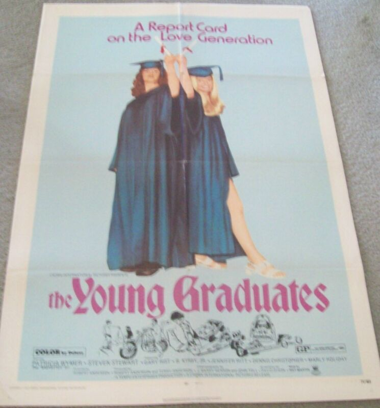 "AUTHENTIC/ORIGINAL MOVIE ADVERTISING POSTER, ""YOUNG GRADUATES""."