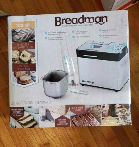NEW Breadman 2lb Professional Bread Maker, FAST SHIPPING