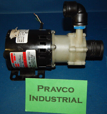 March Mfg Ac-2cp-md Magnetic Drive Polypropylene Pump 220-240v 50-60hz Ac2cpmd