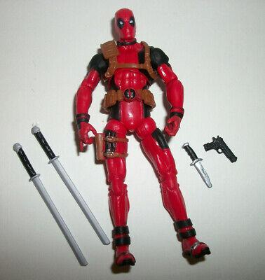 "Marvel Universe Figure 3-4"" Infinity War #1a Deadpool #1 Red w Swords"