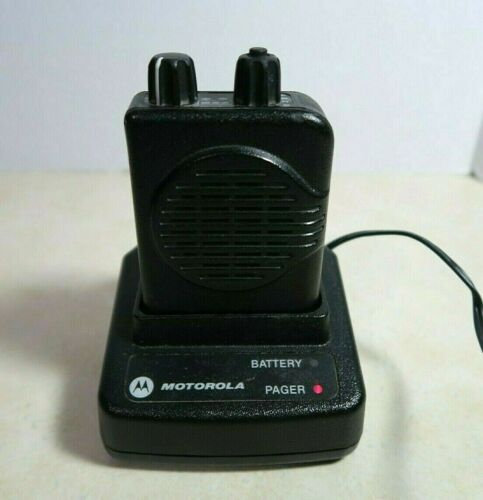 Motorola Minitor V (5) 2-Channel Stored Voice VHF Pager 159-166.9975 MHz