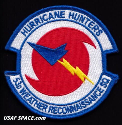 USAF 53rd WEATHER RECONNAISSANCE SQ -HURRICANE HUNTERS- ORIGINAL AIR FORCE PATCH