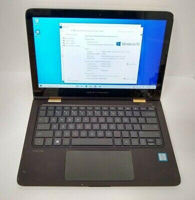 "HP Spectre X360 13.3"" Touch Laptop i7 2.5GHz 8GB 256GB Windows 10 (13-4193dx)"