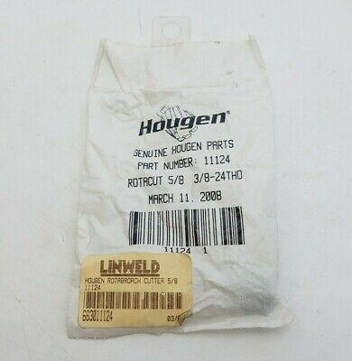 Hougen 11124 Rotacut Sheet Metal Cutter Dia 58 38-24 Thread 11000 Series Nos