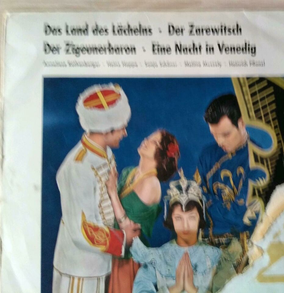 "1 Vinyl LP  ""Das Land des Lächelns "" 4 Operetten-  Trümpfe in Apen"