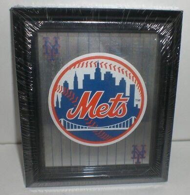 MLB NY METS Collectible Sports Memorabilia Glass Hanging Mirror Baseball Gift