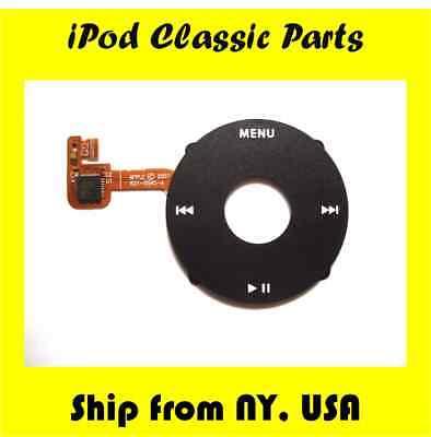 🔥NEW BLACK Click Wheel Flex Apple iPod Classic 6th 7th Gen 80gb 120gb 160gb🔥 Gen Click Wheel