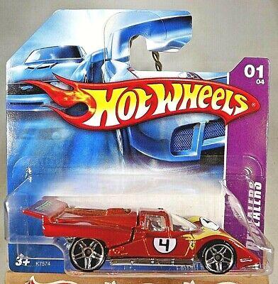 2007 Hot Wheels #57 Engine Revealers 1/4 FERRARI 512M Redish w/Pr5 Sp Short Card