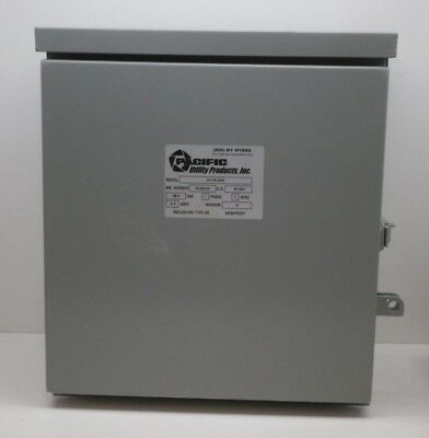 Myers Pacific Sc3a Industrial Sign Control Enclosure Outdoor Rainproof 3R