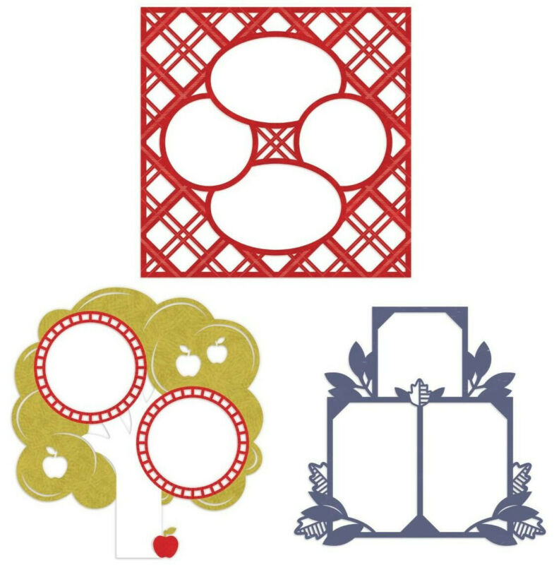 "Creative Memories 12x12 ""Croptoberfest 2020"" Laser Cut Paper Pack, 3pk *NEW!*"
