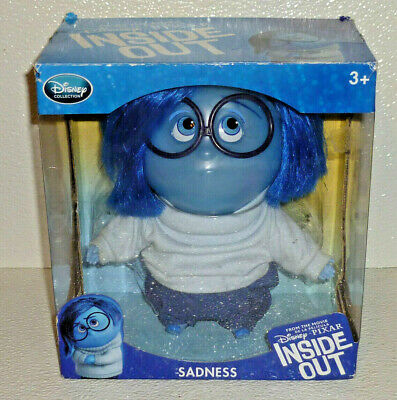 Disney Pixar Inside Out SADNESS Doll NEW in Box Toy Blue 8""