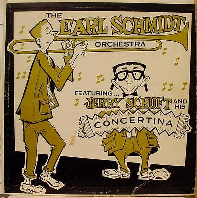 Earl Schmidt Orchestra   Jerry Schuff Lp Vg Kb 2370 Kay Bank Private Mn Usa 1St