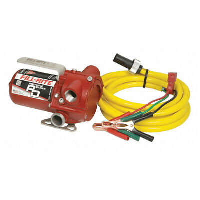 Fill-rite Rd1212nn 12 Volt Dc 12 Gpm Portable Fuel Transfer Pump With Power Cord