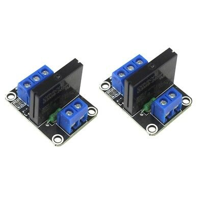 2 X 1 Channel 5v Omron Ssr G3mb-202p Solid State Relay Module For Arduino