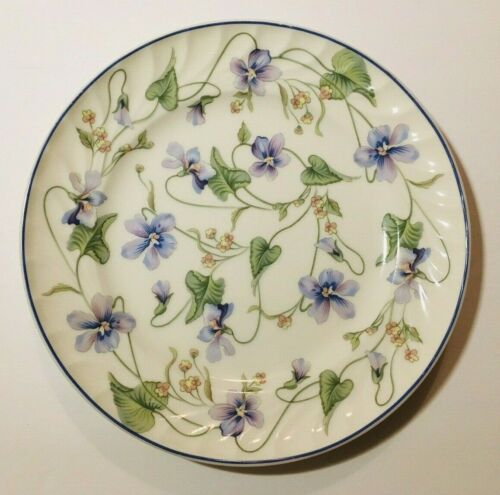 "Gorham Sweet Violet Plate 8 1/4"" NEW Fine China Salad/Lunch/Dessert Flowers"
