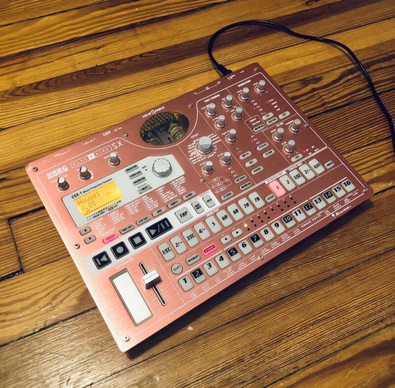 KORG : Electribe (ESX-1) : Music Production Station/ Sampler/ Sequencer: SD Card