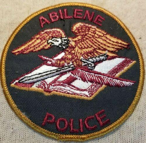 TX Abilene Texas Police Patch